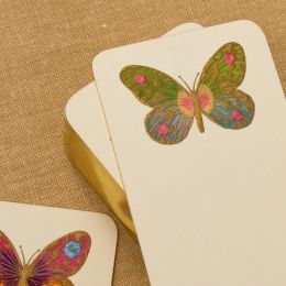 Hand Painted Butterfly Bookmark