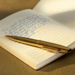 Style Gold Plated Barrel and Cap Ballpoint