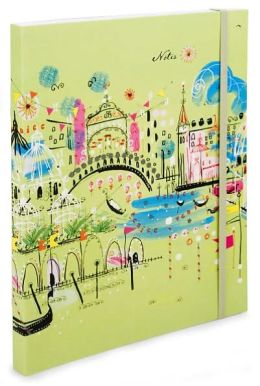 Green Venice Flexi Lined Journal (9.75