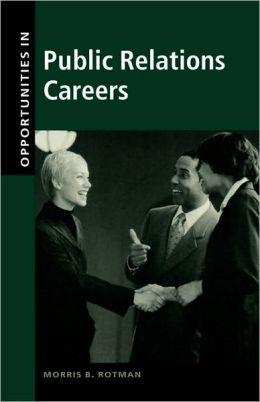 Opportunities In Public Relations Careers