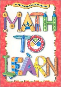 Great Source Math to Learn: Handbook Softcover 2002