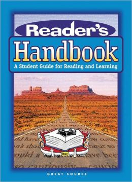 Great Source Reader's Handbooks: Softcover Handbook Grade 9 2002