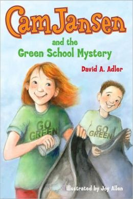 The Green School Mystery (Cam Jansen Series #28)