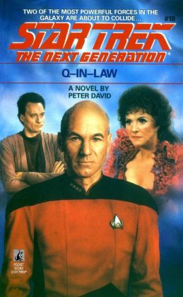 Star Trek The Next Generation #18 - Q-in-Law