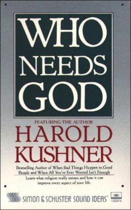 Who Needs God (1 Cassette)