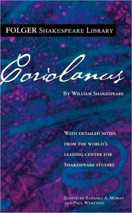 Coriolanus (Folger Shakespeare Library Series)