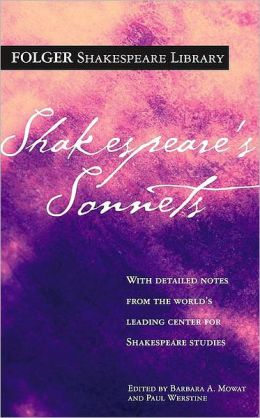 Shakespeare's Sonnets (Folger Shakespeare Library Series)