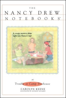 Trouble at Camp Treehouse (Nancy Drew Notebooks Series #7)