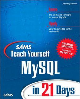 Sams Teach Yourself MySQL in 21 Days