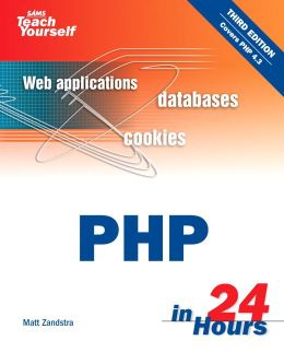 Sams Teach Yourself PHP in 24 Hours