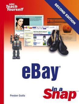 Sams Teach Yourself eBay in a Snap