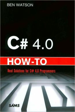 C# 4.0 How-To