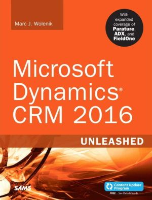 Microsoft Dynamics CRM 2015 Unleashed