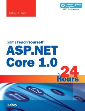 ASP.NET 5.0 in 24 Hours, Sams Teach Yourself