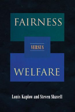 Fairness Versus Welfare