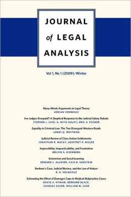 Journal Of Legal Analysis, Volume 1, Number 1 (2009)