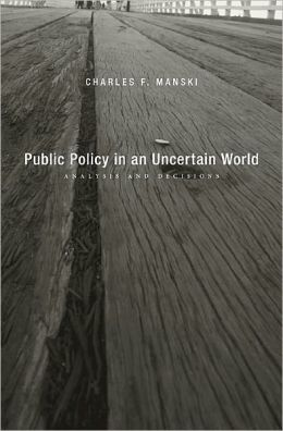 Public Policy in an Uncertain World: Analysis and Decisions
