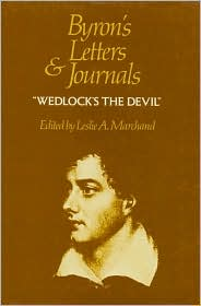 Byron's Letters and Journals, Volume IV: 'Wedlock's the Devil', 1814-1815