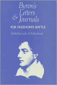 Byron's Letters and Journals, Volume XI: 'For Freedom's Battle', 1823-1824