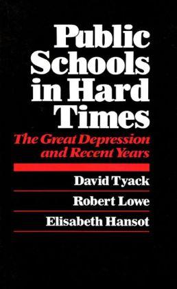 Public Schools In Hard Times