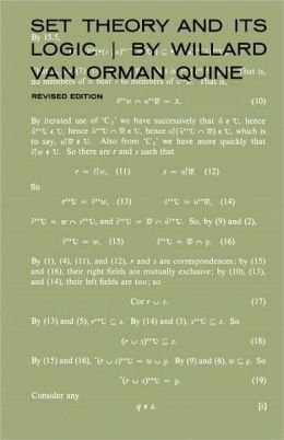 Set Theory And Its Logic, Revised Edition (Revised)