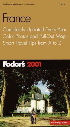 Fodor's France 2001