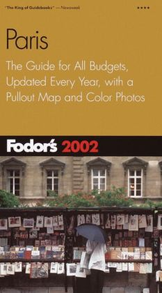 Fodor's Paris 2002