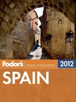 Fodor's Spain 2012