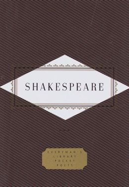 Poems: Shakespeare (Everyman's Library)