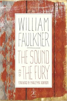 The Sound and the Fury (Modern Library Series)