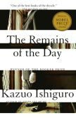 Book Cover Image. Title: The Remains of the Day, Author: Kazuo Ishiguro