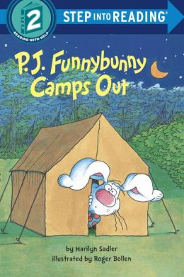 P. J. Funnybunny Camps Out (Step into Reading Books Series: A Step 2 Book)