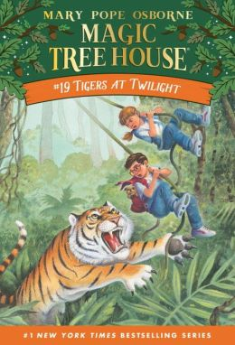 Tigers at Twilight (Magic Tree House Series #19)
