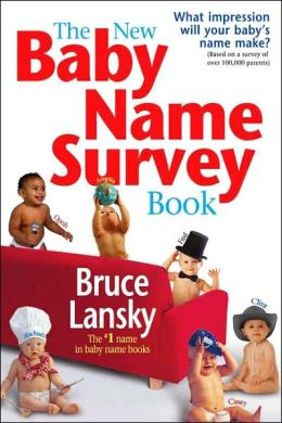 New Baby Name Survey Book: How to Pick a Name That Makes a Favorable Impression for Your Child