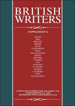British Writers Ian Scott Kilvert