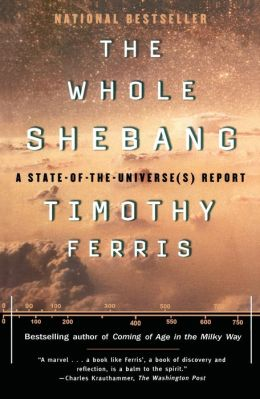a book report on the whole shebang by timothy ferris Timothy ferris, the author of the whole shebang, red limit, is not the same person as the tim ferris who wrote the recent book the four hour work week the four hour work week was written by tim ferriss - note the second s.