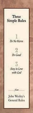 Three Simple Rules Bookmark (Package of 25)