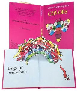 Baby Bug Pop up Book Colors