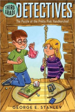 Puzzle of the Pretty Pink Handkerchief: Ready-for-Chapters (Third-Grade Detectives #2)