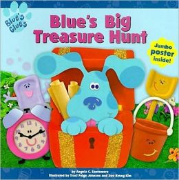 Blue's Big Treasure Hunt with Poster (Blue's Clues Series)