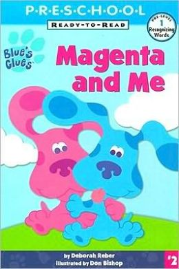 Free blue s clues vhs movie magenta comes over other dvds amp movies
