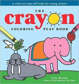 Crayon Coloring Play Book