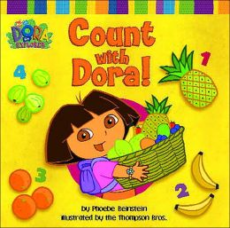 Count with Dora!: A Counting Book in English and Spanish (Dora the Explorer Series)