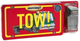 Tow! with Flatbed Tow Truck (Matchbox License Plate Books Series)