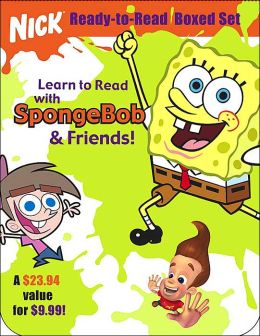 Nick Ready-To-Read Boxed Set: Learn to Read with SpongeBob and Friends: Special Delivery!/The Song That Never Ends/Up All Night/Lemonade with a Twist/No More Mr. Smart Guy/Jimmy Strikes Out!