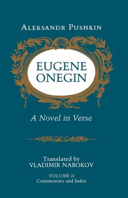 Eugene Onegin: A Novel in Verse: Commentary