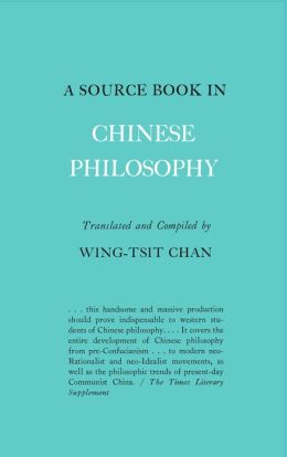 A Source Book in Chinese Philosophy