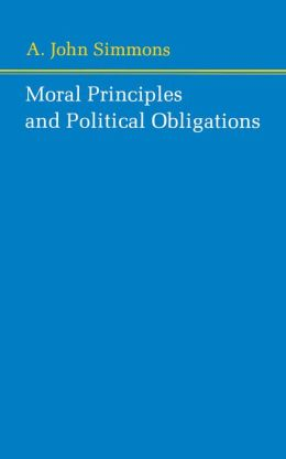 Moral Principles and Political Obligations