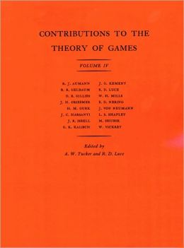 Contributions to the Theory of Games, Volume IV. (AM-40)