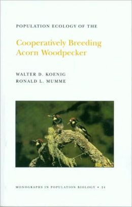 Population Ecology of the Cooperatively Breeding Acorn Woodpecker. (MPB-24)